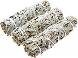 Sage smudge sticks for cleansing the home
